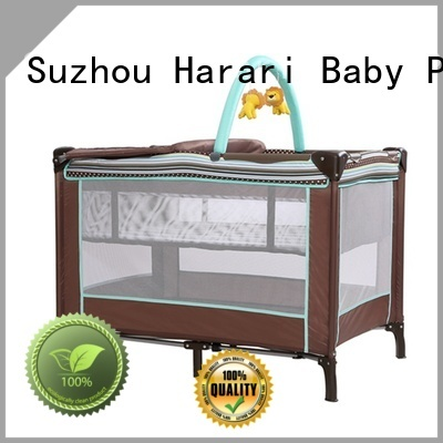 Custom all in one playpen crib company for baby