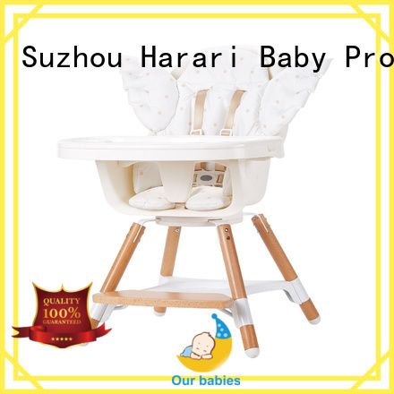 High-quality baby high chair and table foldable Suppliers for older baby