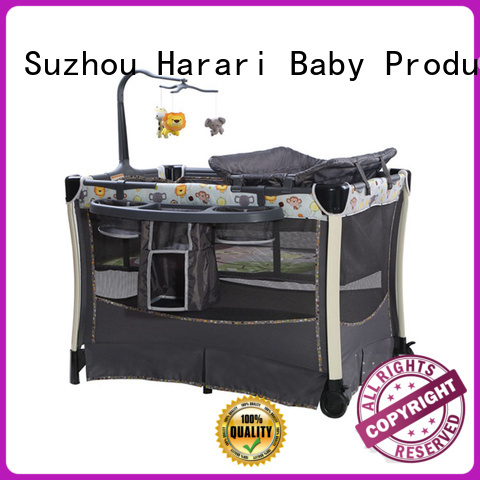 Harari cradle travel playpen for babies manufacturers for new moms and dads
