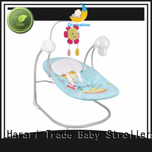 Harari baby rocker personalized for playing