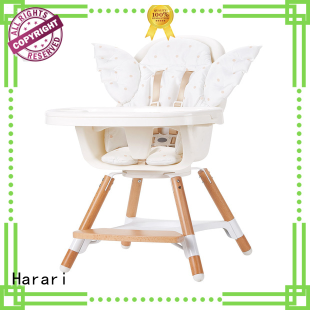 Harari rotation red high chair for business for older baby