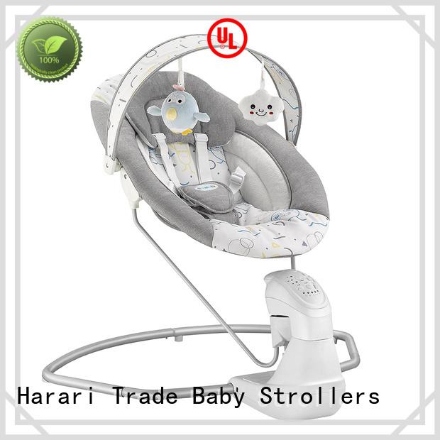 Harari Baby cradle pink baby swing chair company
