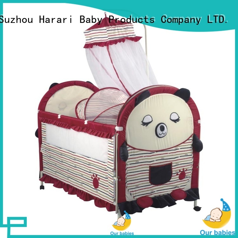 Custom round playpen for babies sleeping for business for crawling