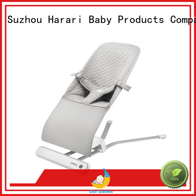 Harari Baby New pink and grey baby bouncer manufacturers