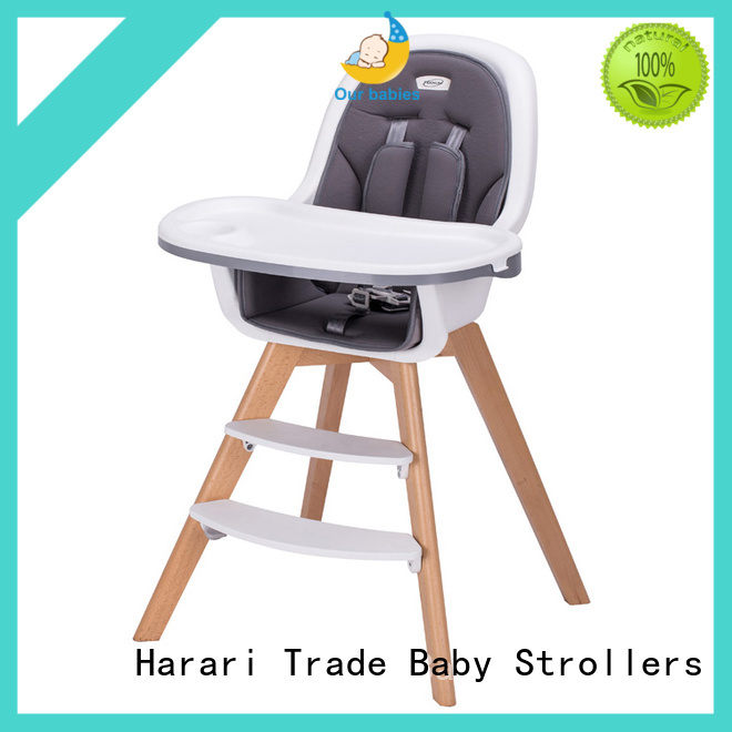 Harari Baby High-quality baby high chair adjustable height company for feeding