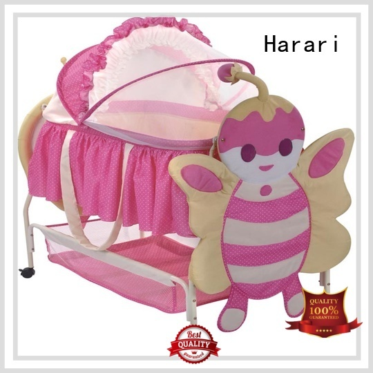 Harari high quality baby bassinet playpen with good price for crawling