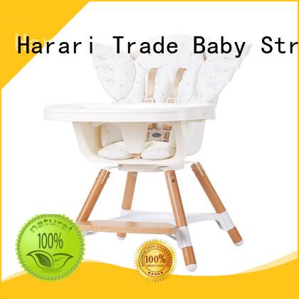 Harari comfortable baby girl high chair for feeding