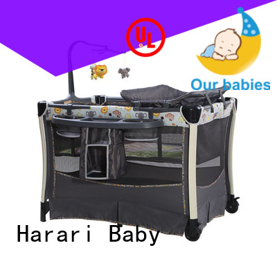 Harari Baby electric baby playpen Supply for baby