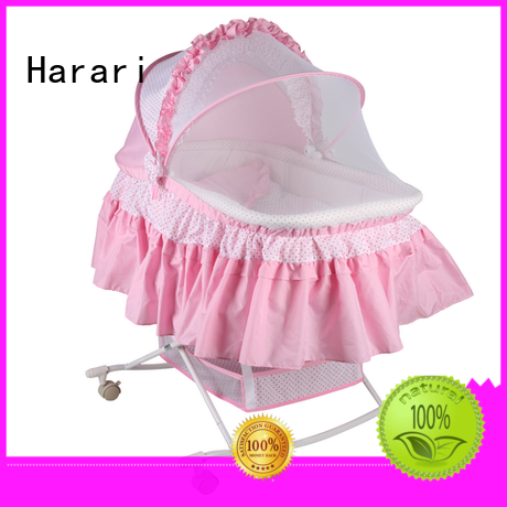 high quality foldable baby cribs factory price for crawling Harari