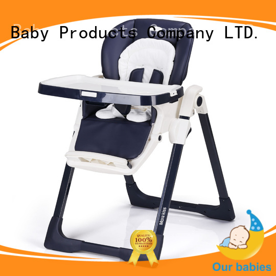 Latest baby high chair that attaches to chair feeding factory for feeding