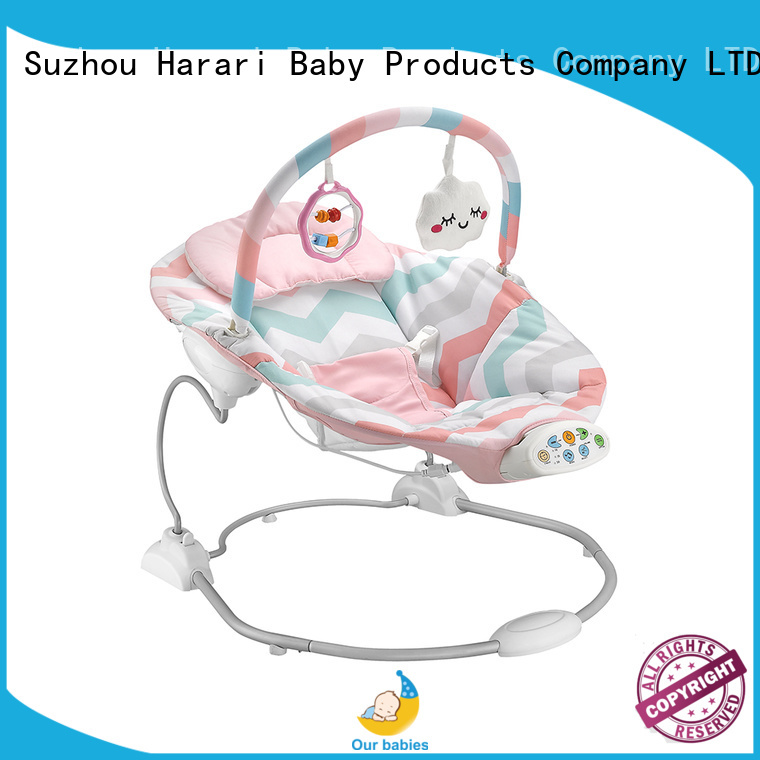 Harari automatic blue baby bouncer for business for playing