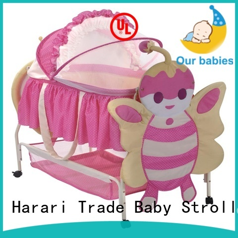 Harari Baby Wholesale black playpens for babies Suppliers for crawling