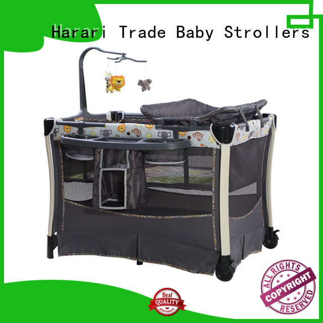 Harari lovely playpen with bassinet for baby