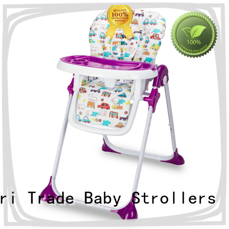 New space saver high chair wooden for business for feeding