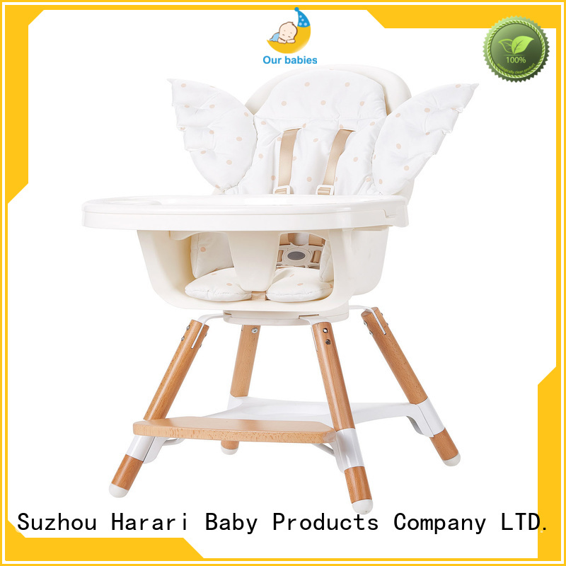 Harari Baby restaurant toddler feeding chair with tray Suppliers for older baby