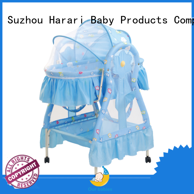 durable baby cradle customized for baby