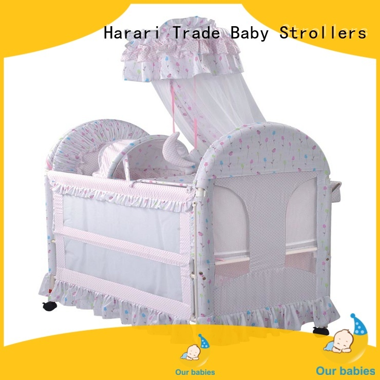 Custom pink playpen for babies frame factory for playing
