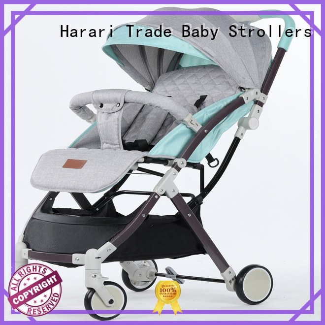 Harari foldable baby girl carseat and stroller Suppliers for child